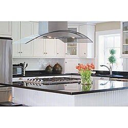 Modern 42-inch Three-mode Island Range Hood