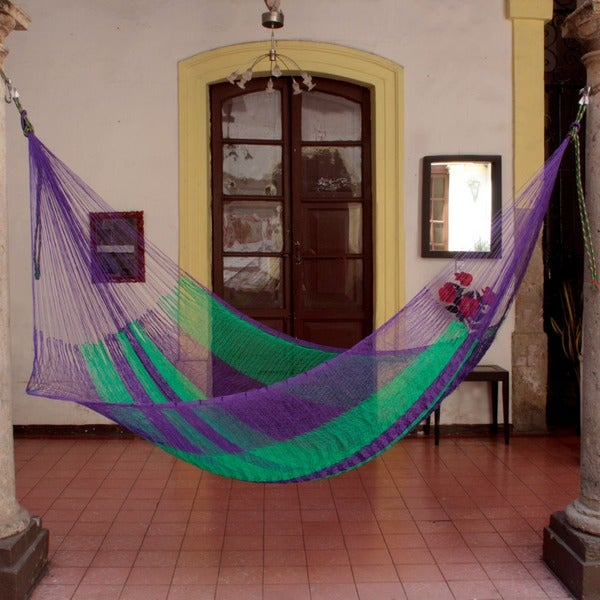 Nylon Green Vineyard Hammock (Mexico)