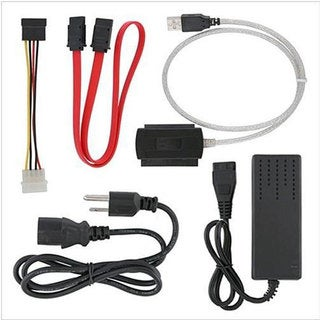 INSTEN 480Mbps High-speed Plug-and-play USB 2.0 to IDE/ SATA Converter Cable