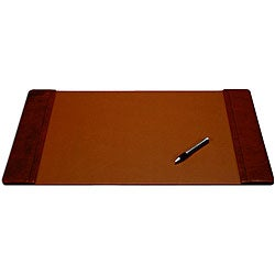 Dacasso Leather 25x17 Inch Side Railed Desk Pad