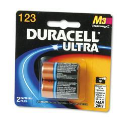 Duracell Ultra High Power 123, 3V Lithium Battery (Pack of 2)