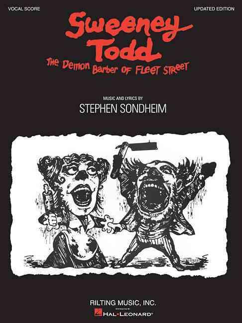 Sweeney Todd: The Demon Barber of Fleet Street: Vocal Score (Paperback)