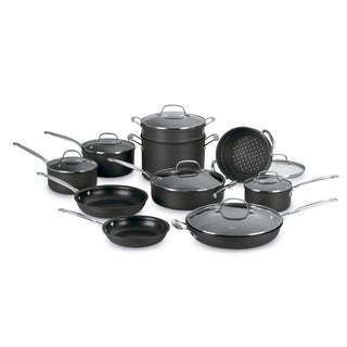 Cuisinart 17-piece Chef's Classic Nonstick Cookware Set