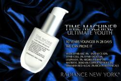 Radiance NY Time Machine Ultimate Youth 1-ounce Snake Venom Cream
