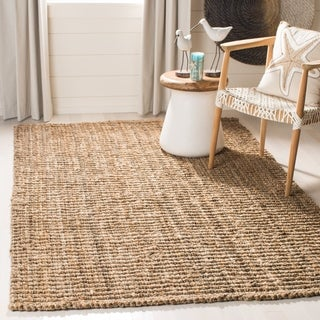 Safavieh Hand Woven Weaves Natural Colored Fine Jute Rug