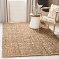 Hand-woven Weaves Natural-colored Fine Sisal Rug (8' x 10')