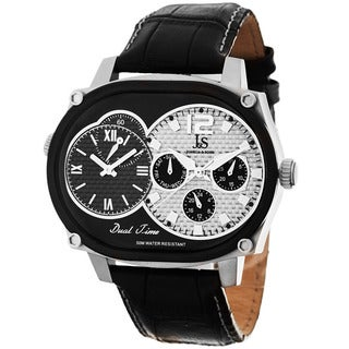 Joshua & Sons Men's Dual-Time Multifunction Quartz Watch