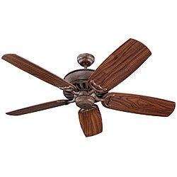 Avanti 52-inch British Bronze Finish Ceiling Fan