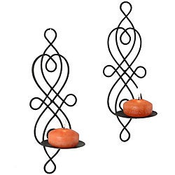 Twisted Wire Wall Sconces (Set of 2)