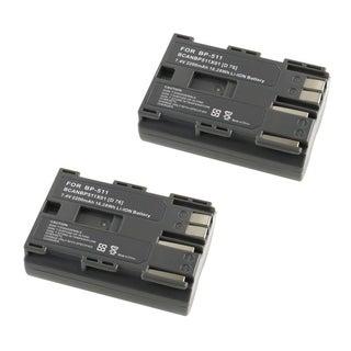 INSTEN Battery for Canon BP-511 (Pack of 2)