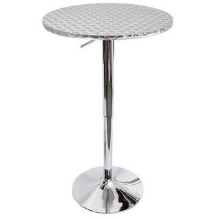 Bistro Polished Chrome Bar Table