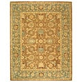 Safavieh Handmade Legacy Brown/ Blue Wool Rug (5' x 8')