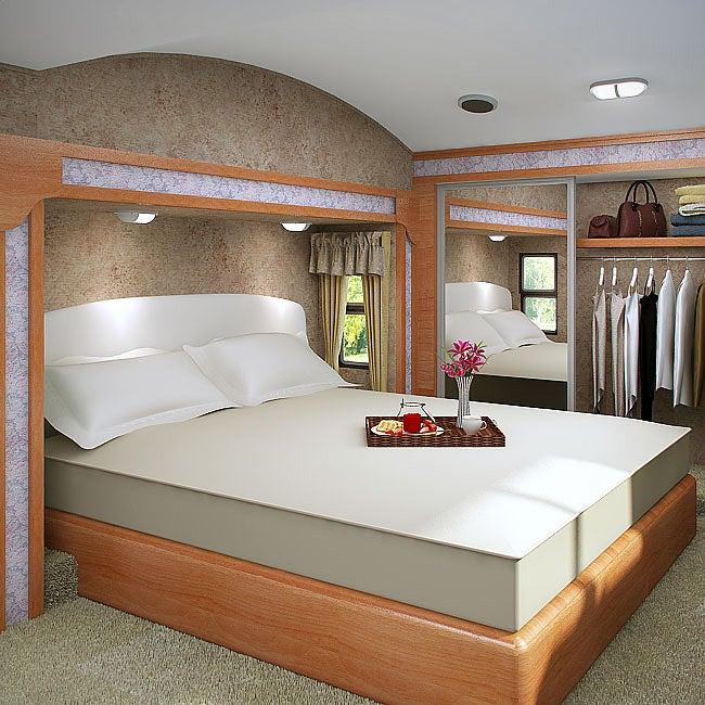 Accutek Accu-Gold Memory Foam Mattress 8-inch Twin-size Bed Sleep System