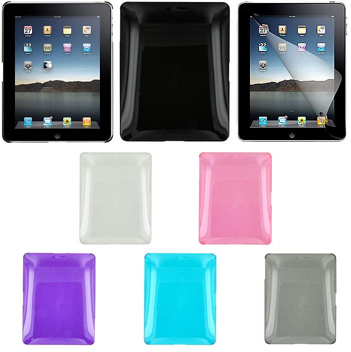 Apple iPad Crystal Case and Screen Protector