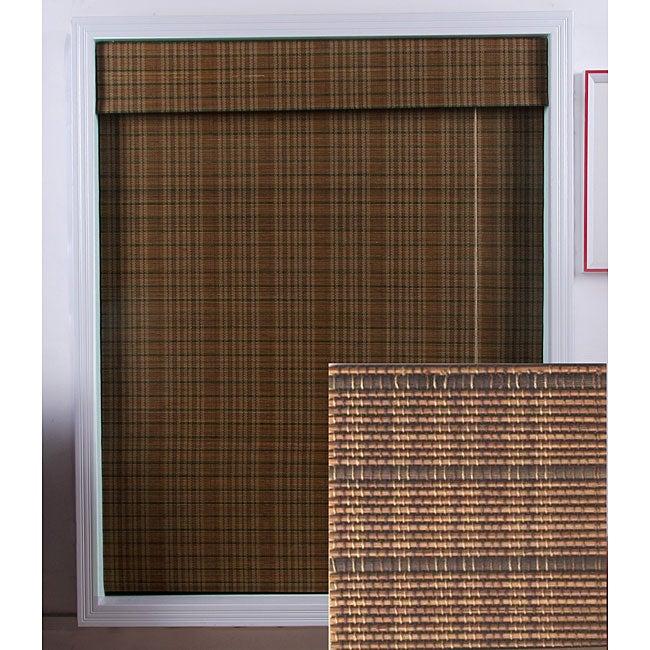 Tibetan Bamboo Roman Shade (40 in. x 54 in.)