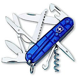 Victorinox Swiss Army Huntsman Sapphire Pocket Knife
