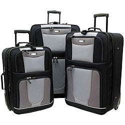 Geoffrey Beene Carnegie 3-piece Expandable Luggage Set