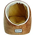 Armarkat 19-inch Brown and ivory Waterproof No Skid Pet Bed/House