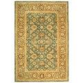 Safavieh Handmade Legacy Blue/ Brown Wool Rug (9' x 12')