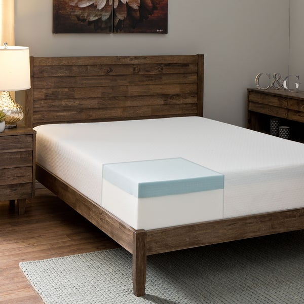 Comfort Dreams Anti-bacterial/ Allergy/ Dust Mite Silver-treated 10-inch California King-size Memory Foam Mattress