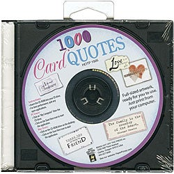 Hot Off the Press '1000 Card Quotes' CD