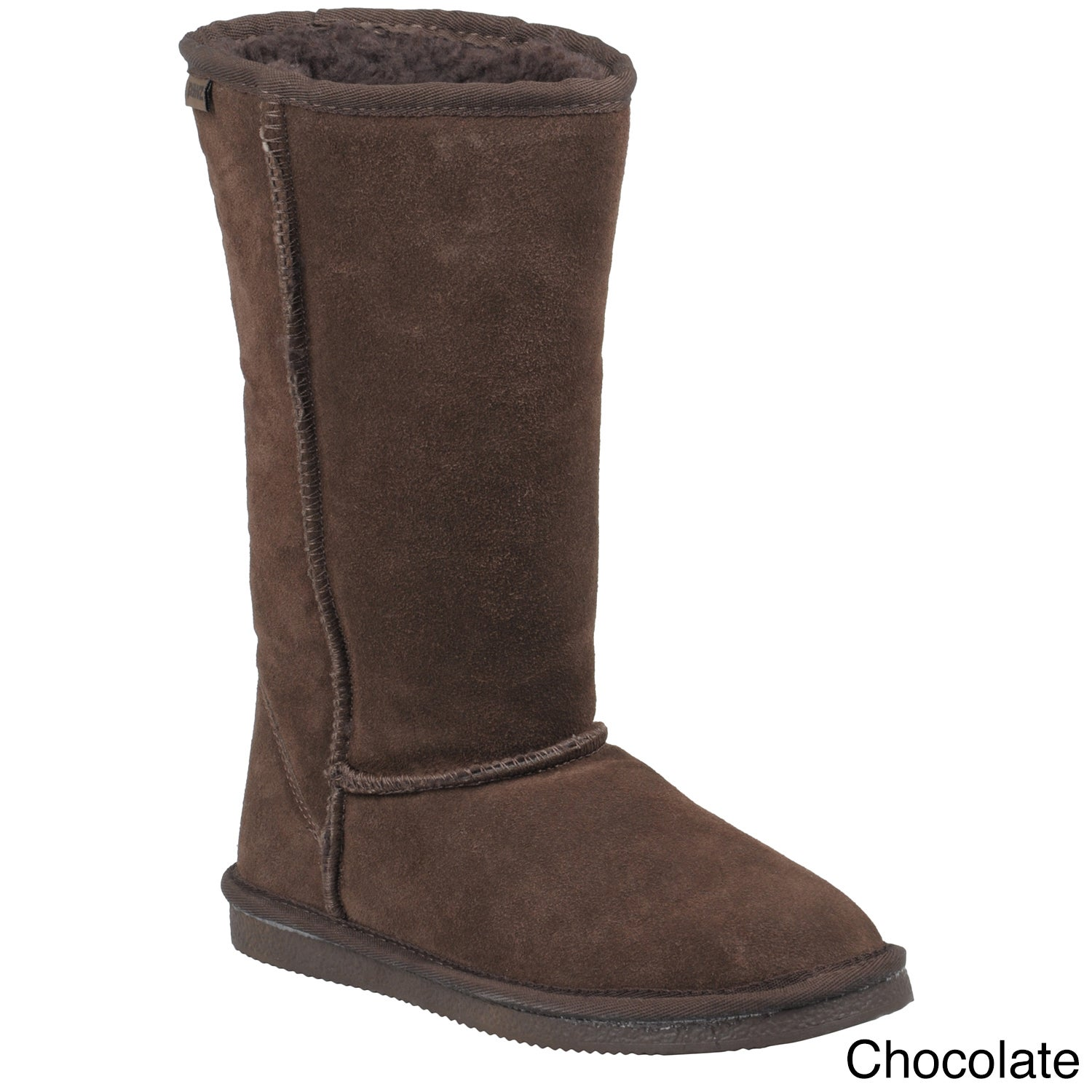 BEARPAW Women's Emma Tall Black Boots