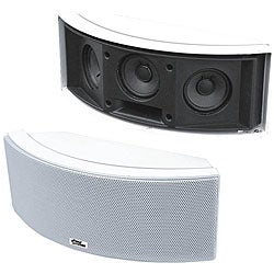 Pyle 500-Watt 3-Way 'White' Indoor/ Outdoor Center Channel Speaker