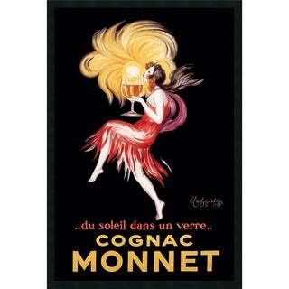 Leonetto Cappiello 'Cognac Monnet (ca. 1927)' Framed Art Print with Gel Coated Finish
