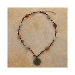 Jade 'Harmony' Beaded Necklace (Thailand)