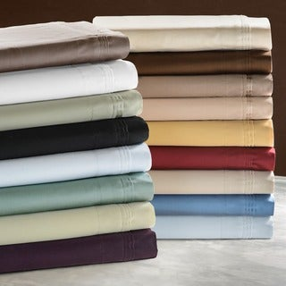 Solid Egyptian Cotton 650 Thread Count Split King Sheet Set