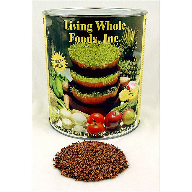 Organic 3-part Sprouting Seed Mix