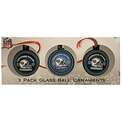 Tennessee Titans Glass Ornament (Pack of 3)