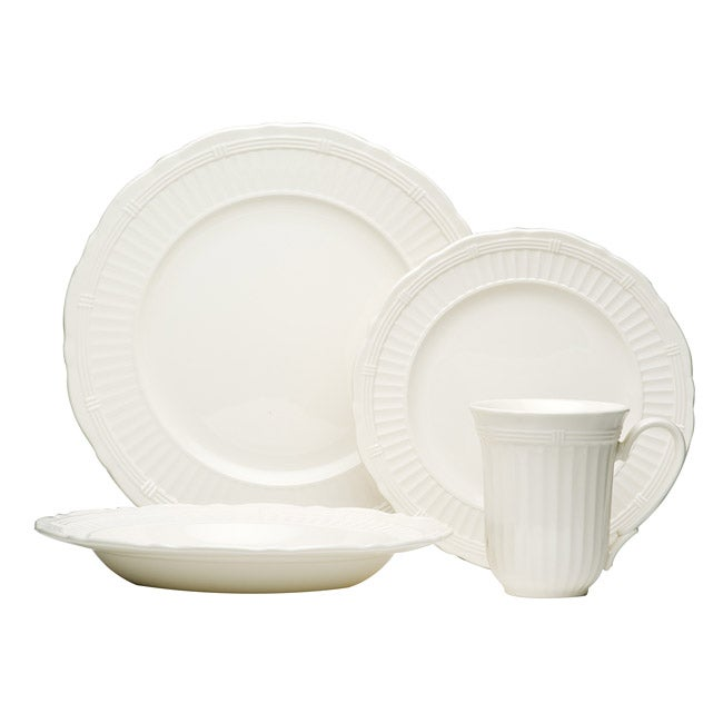 Red Vanilla Tuscan Villa 16-piece Dinnerware Set