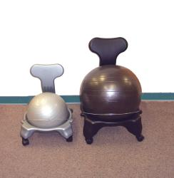 Cando Child-size Plastic Ball Chair