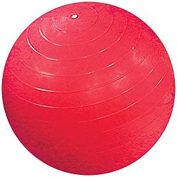 Cando Inflatable 37-inch Red Exercise Sensi-Ball
