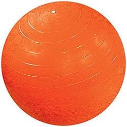 Cando Inflatable 47-inch Orange Exercise Sensi-Ball