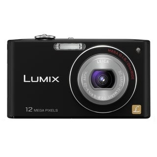 Panasonic Lumix DMC-FX48 12.1 Megapixel Compact Camera - Black