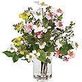 Silk Dogwood Flower Arrangement