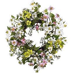 Dogwood 20-inch Wreath