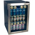 EdgeStar 84-can Stainless Steel Beverage Refrigerator
