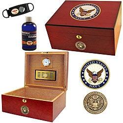 U.S. Navy Cigar Humidor Two