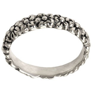 Sterling Silver 'Silver Garland' Ring (Indonesia)