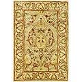 Safavieh Handmade Mahal Light Brown/ Beige New Zealand Wool Rug (3' x 5')
