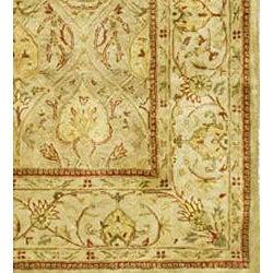Safavieh Handmade Mahal Light Brown/ Beige New Zealand Wool Rug (6' x 9')