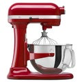 KitchenAid KP26M1XER Empire Red 6-quart Pro 600 Bowl-Lift Stand Mixer