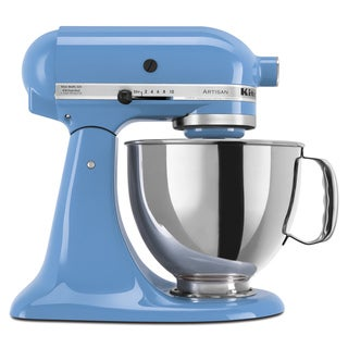 KitchenAid KSM150PSCO Cornflower 5-quart Artisan Tilt-Head Stand Mixer