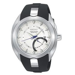 Seiko Arctura Men's Stainless Steel and Rubber Kinetic Watch