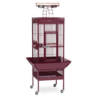 Prevue Pet Products Wrought Iron Select Bird Cage with Push Button