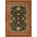 Alliyah Handmade Black New Zealand Blend Wool Rug (8' x 10')