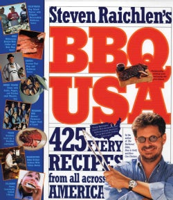 Bbq USA: 425 Fiery Recipes from All Across America (Paperback)